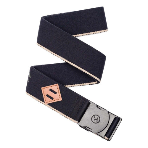Arcade Blackwood Belt: Black/Khaki - Stokedstore