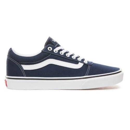 Vans Ward Canvas Shoes: Dress Blue/Navy - Mens - Stokedstore