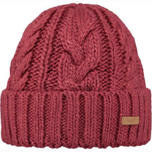 Load image into Gallery viewer, Barts Jeanne Beanie: Green | Pink | White - Ladies - Stokedstore
