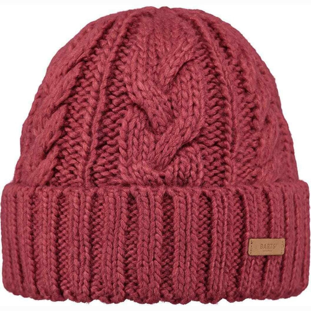 Barts Jeanne Beanie: Green | Pink | White - Ladies - Stokedstore