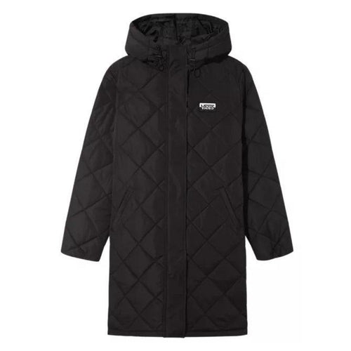 Vans Clair Shores Puffer Jacket: Black - Womens - Stokedstore