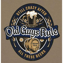 Load image into Gallery viewer, Old Guys Rule 'Still Crazy 3' Tee Shirt - Stokedstore