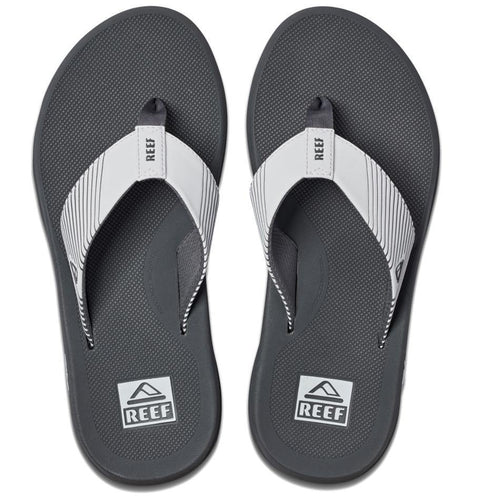 Reef Phantom II Flip Flops: Grey/White | Grey/Navy - Mens - Stokedstore