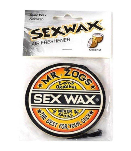 Sex Wax Air Freshener: Coconut | Grape | Pineapple | Strawberry - Stokedstore