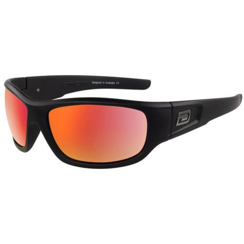 Dirty Dog Sythe Sunglasses: Black/Red - Stokedstore