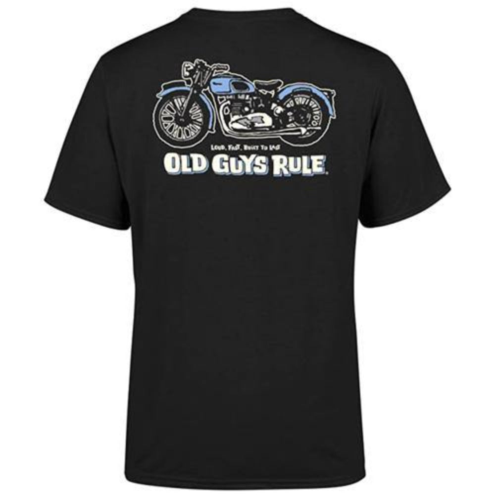 Old Guys Rule 'Triumph' Tee Shirt - Stokedstore