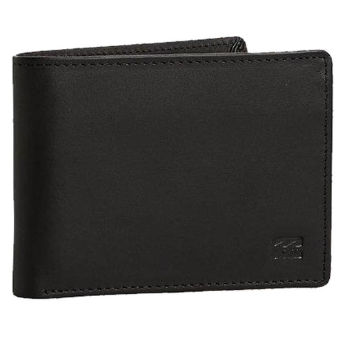 Billabong Vacant Leather Wallet: Black | Chocolate - Mens - Stokedstore