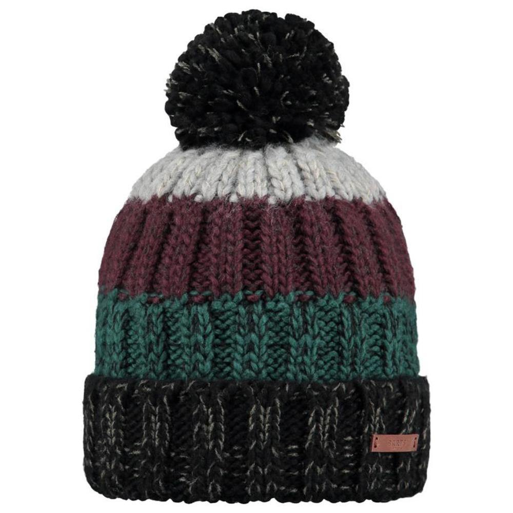 Barts Wilhelm Beanie: Black | Blue | Charcoal | Yellow - Mens - Stokedstore
