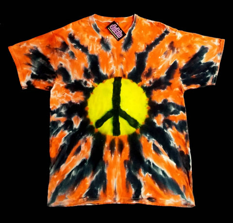 Plasma Peace Warrior Tie Dye Shirt