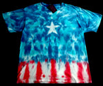 Star Spangled Peace American Tie Dye