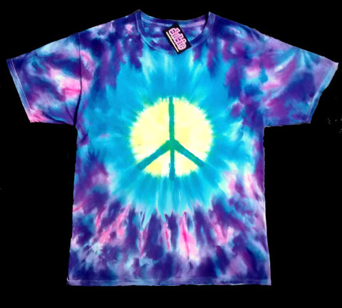 Peace Warrior Insurgent Tie Dye Shirt