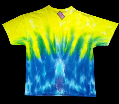 West Coast Sunrise Tie Dye Shirt