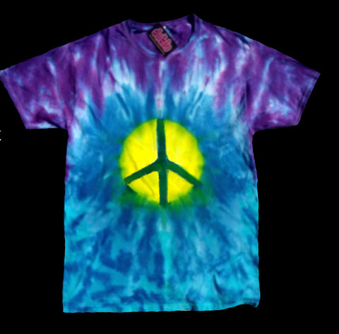 Peace Warrior Tie Dye Shirt