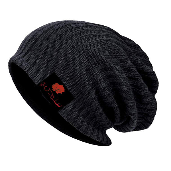 Bloodflowers Black Beanie