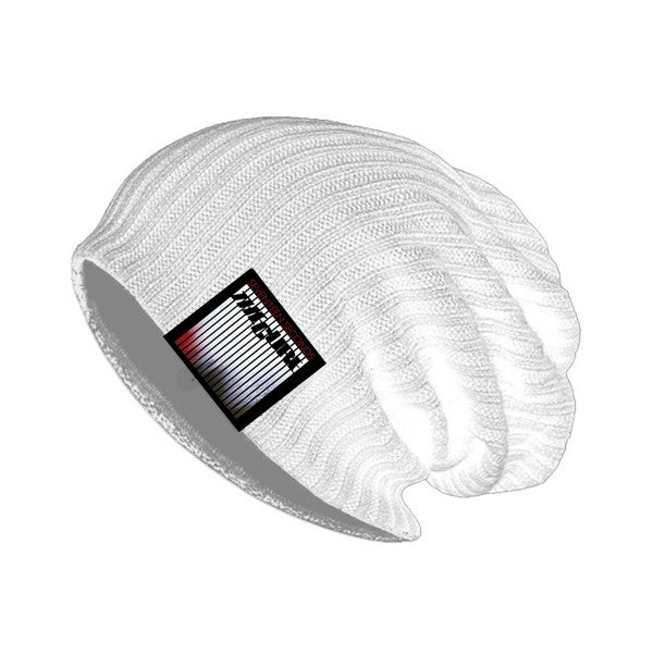 17 Seconds White Beanie