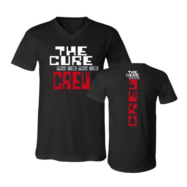 The Cure 2020 Crew Black V-neck T-shirt