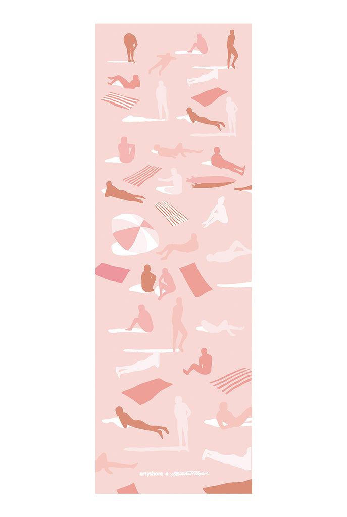 Pink Swimmers Yoga Mat