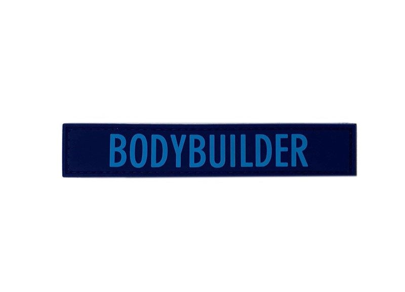 Bodybuilder Retro Blue
