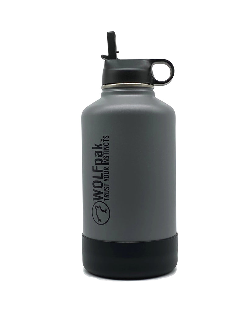 64oz Flask Grey