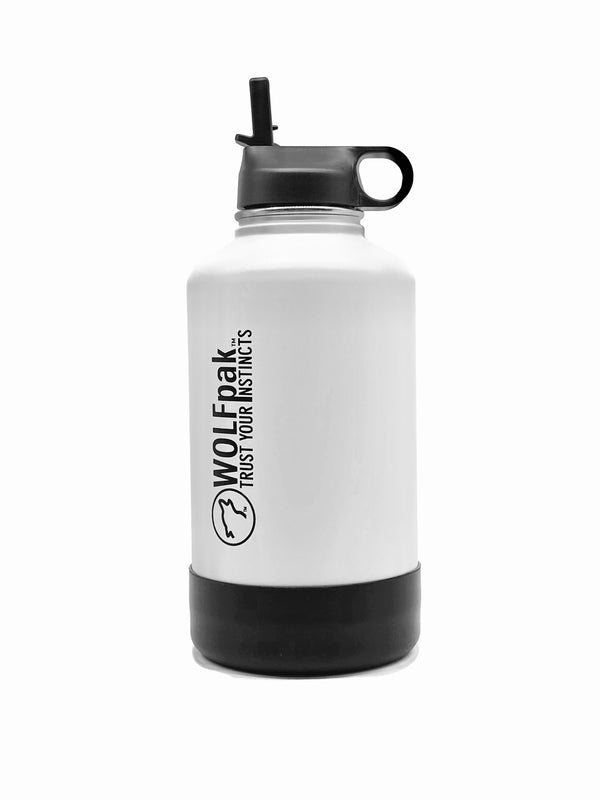 64oz Flask White
