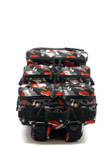 45L Backpack Black & Red Camo