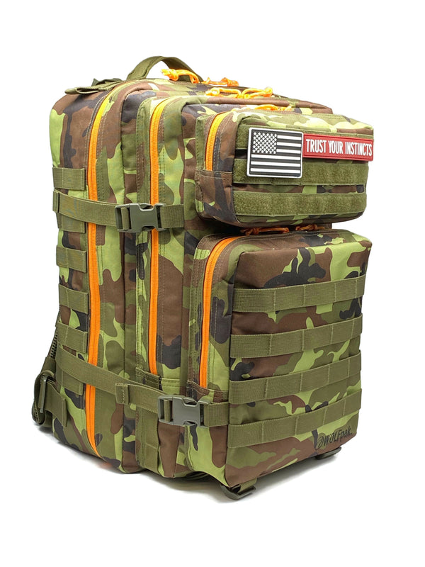45L Backpack Camo Green