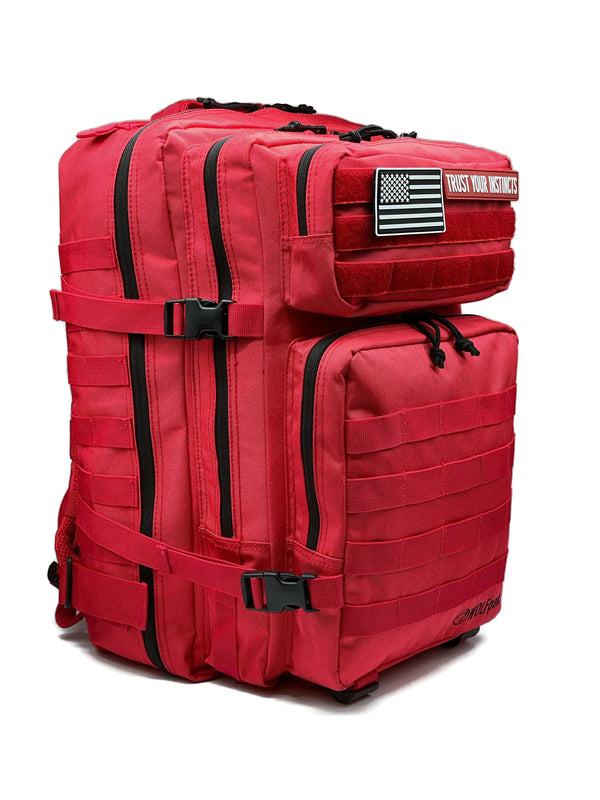 45L Backpack Elite Red