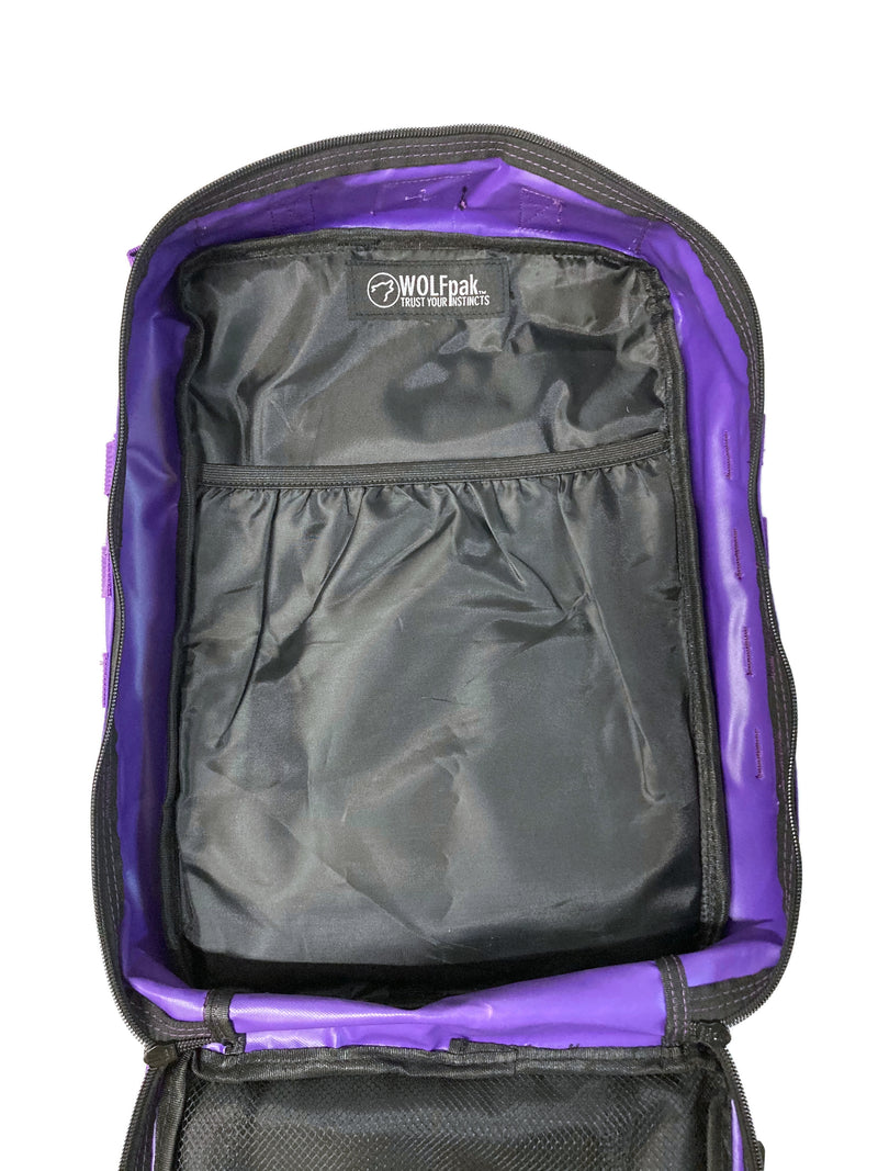 25L Backpack Wolfsbane Purple | WOLFpak