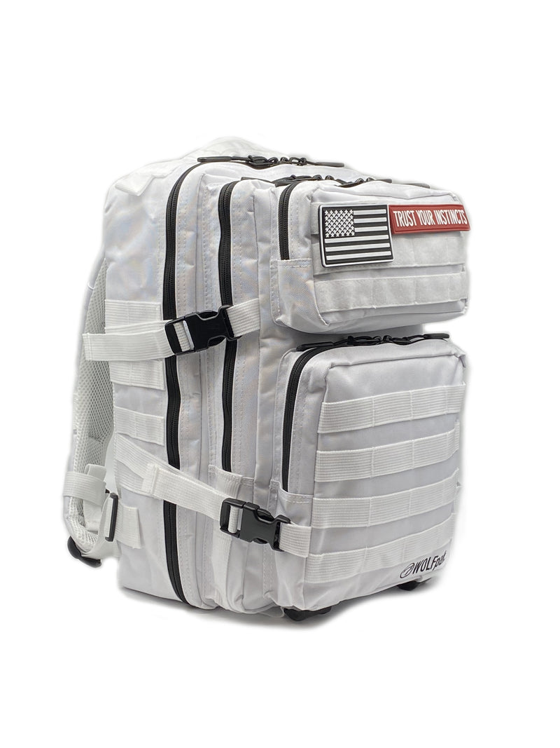 25L Backpack Polar White