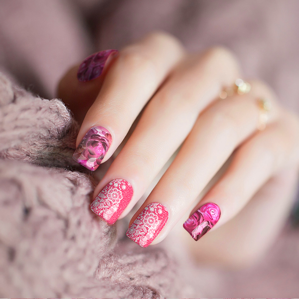 Sweet Hearts Nail Wraps