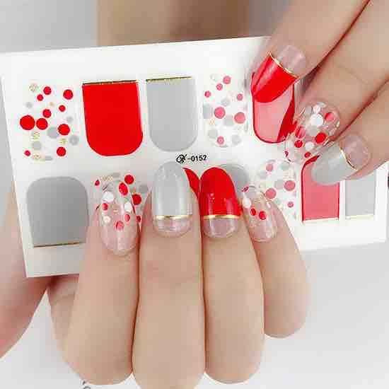 Dot Me Gel Nail Wraps