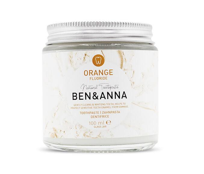 Ben & Anna: Toothpaste Orange Fluor - Turtlee Green
