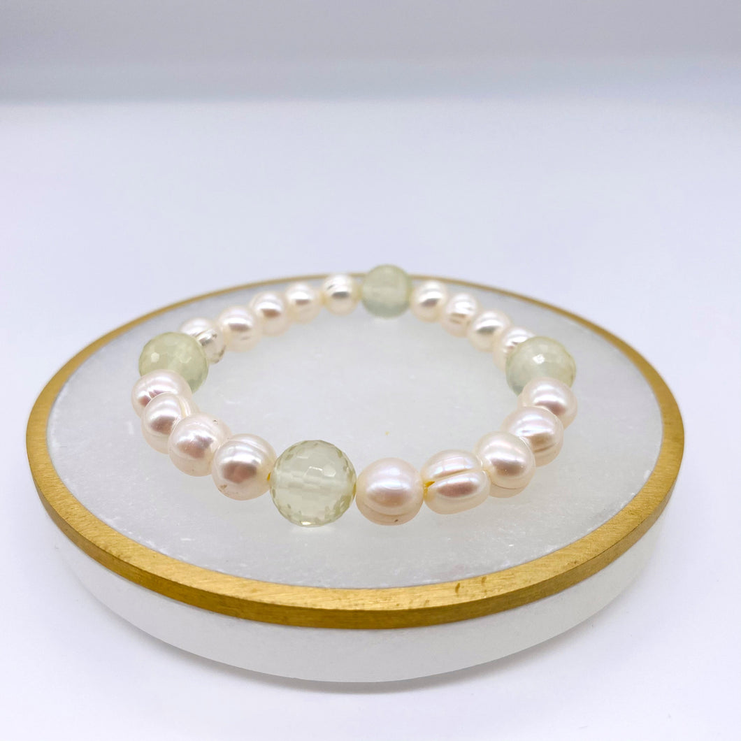 Freshwater Pearl & Citrine