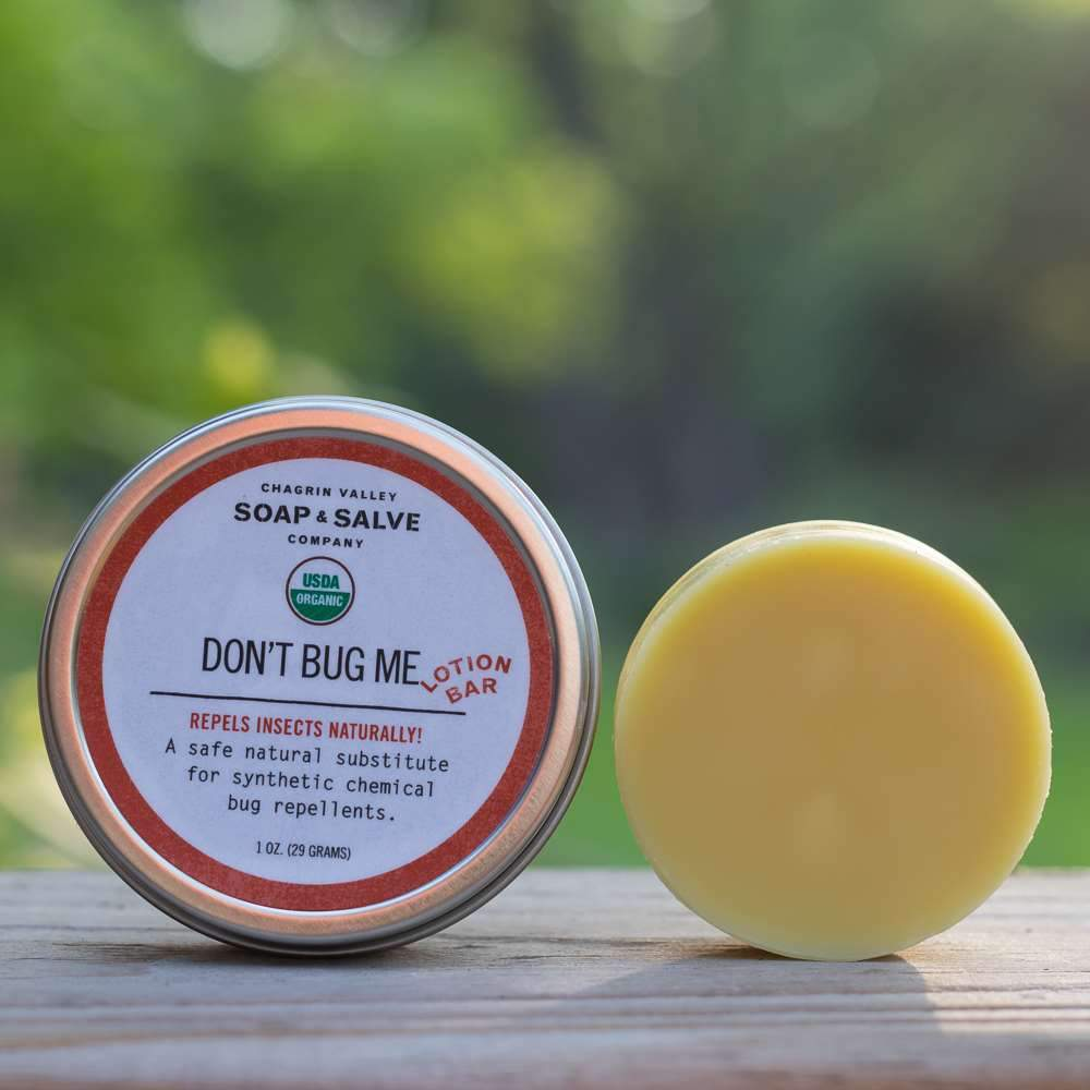 Soap & Salve: Bug Repellent Lotion Bar - Turtlee Green