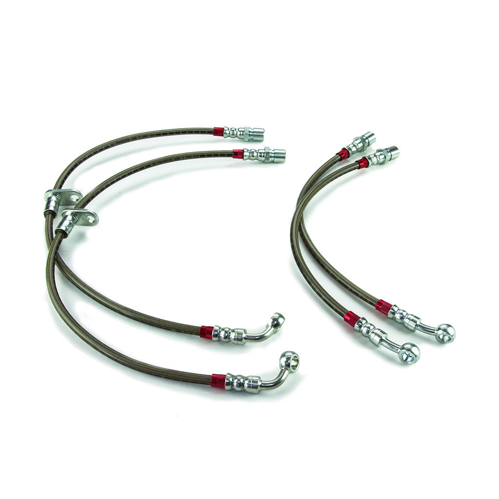 ATS-V Stainless Steel DOT Compliant Brake Line Kit - RENICK PERFORMANCE - 1