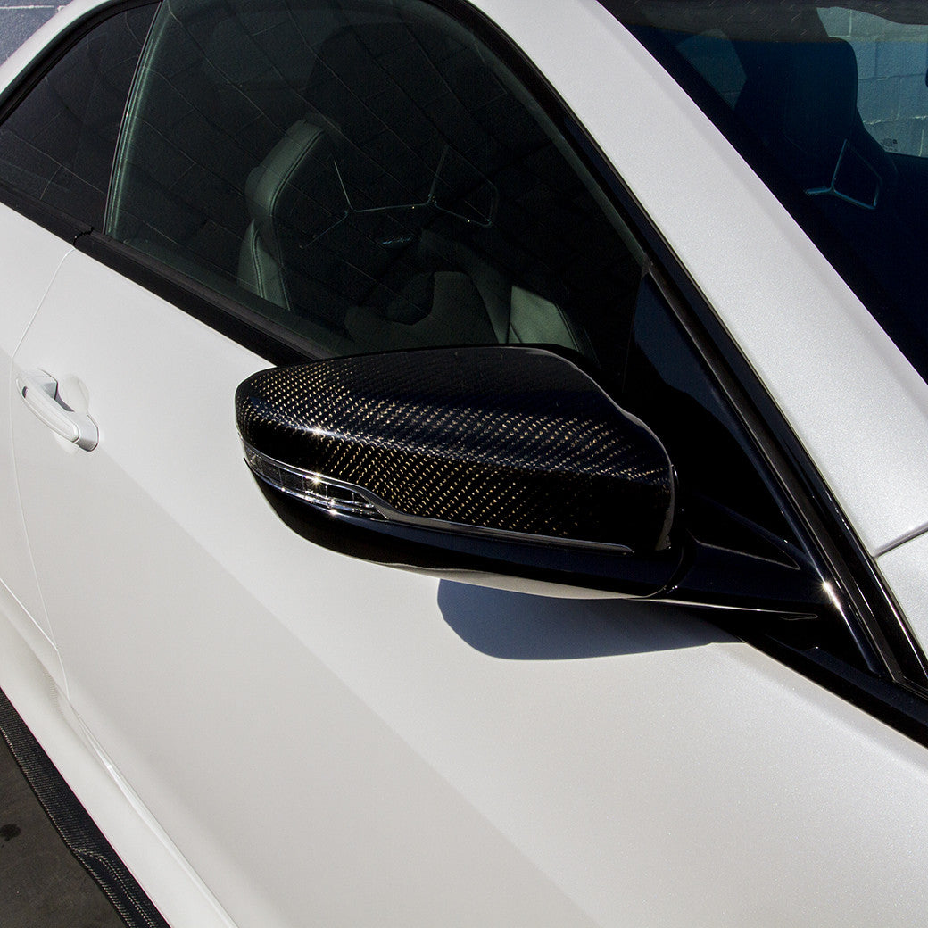 ATS Coupe Carbon Fiber Mirror Covers - RENICK PERFORMANCE - 2