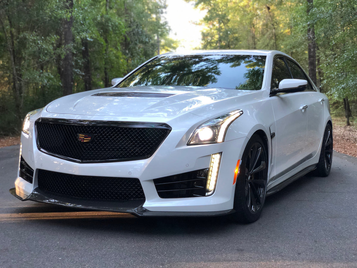 CTS-V Blacked Out Grille and Emblem Kit