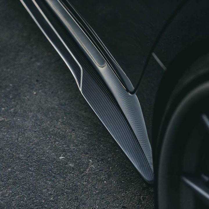 CTS-V Carbon Fiber Side Skirt Extensions