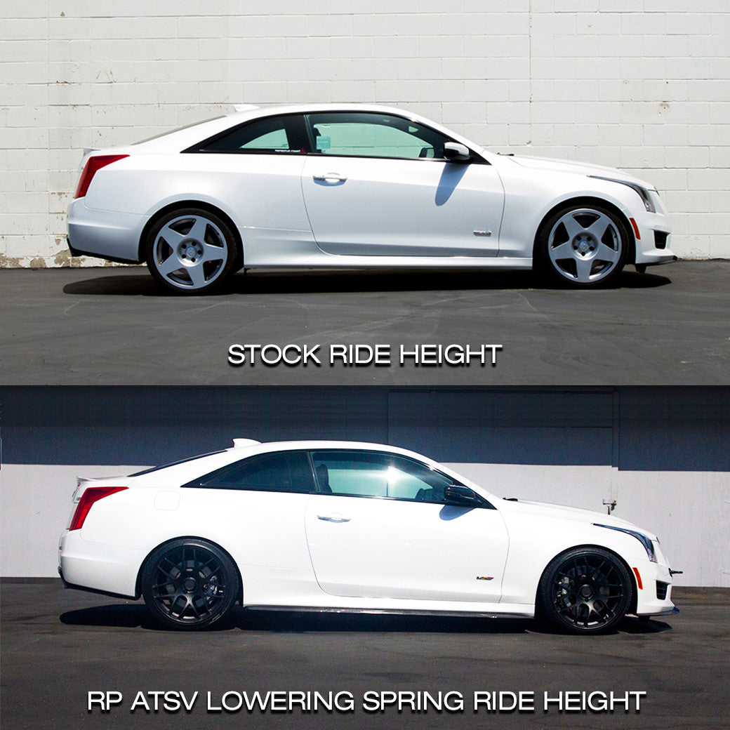 ATS-V Lowering Spring Kit by Swift Springs - RENICK PERFORMANCE - 7