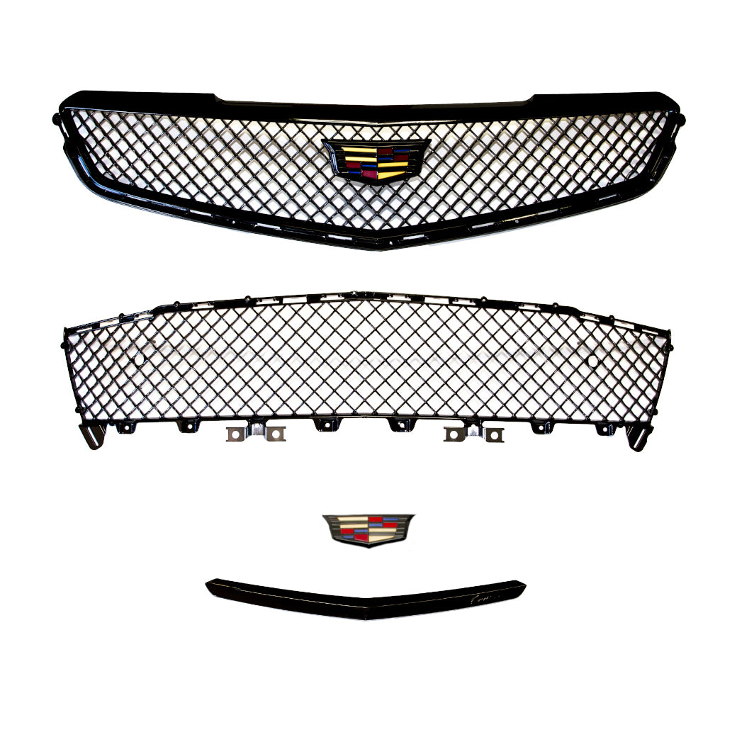 ATS-V Blacked Out Grille and Emblem Kit