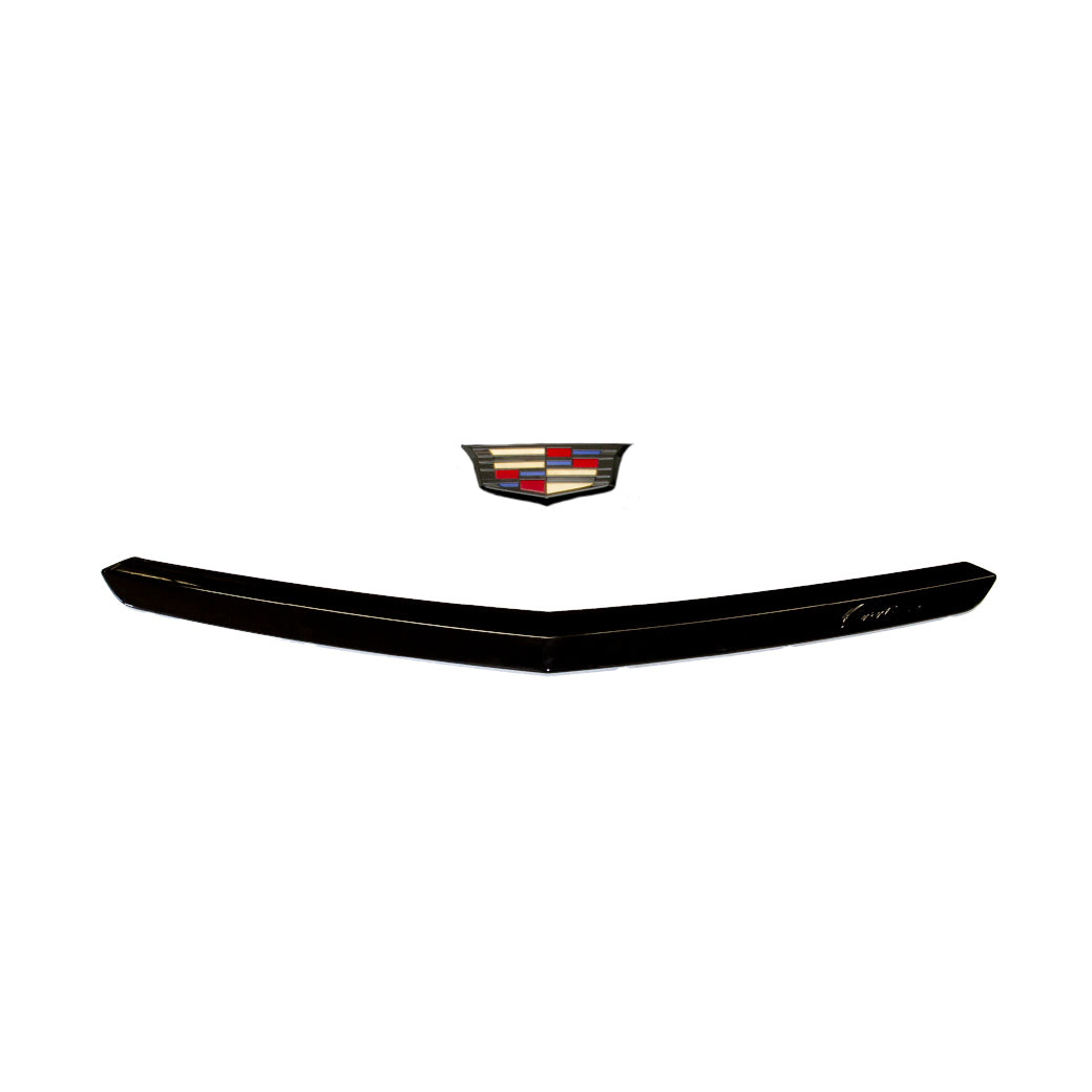 ATS-V Blacked Out Rear Bumper Moulding and Emblem