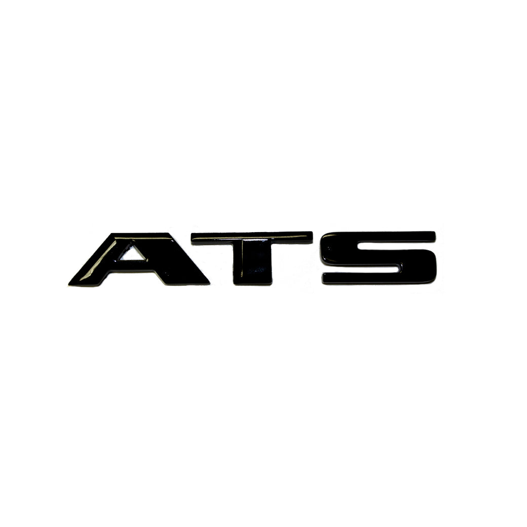 "ATS-V Blacked Out ""ATS"" Trunk Letters"