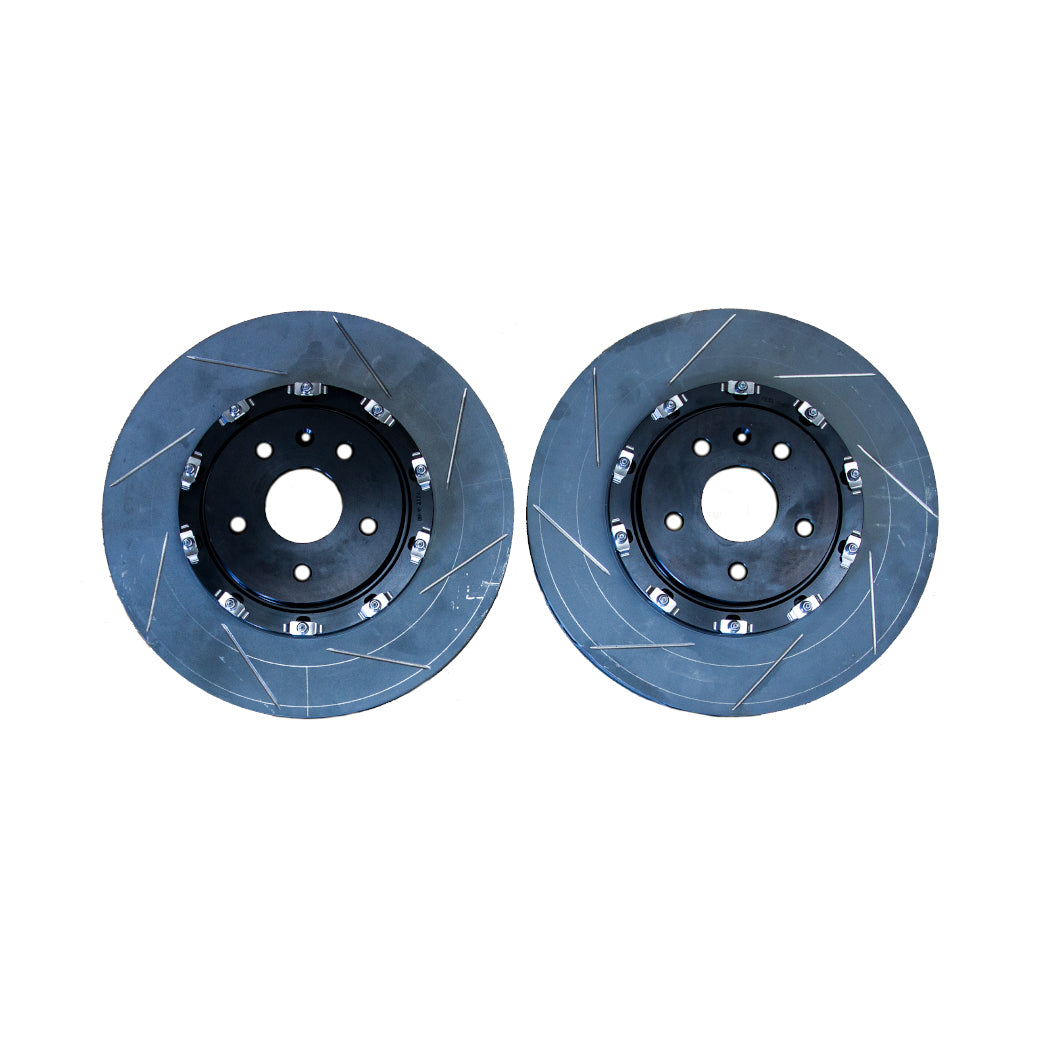 ATS-V Slotted Front and Rear Rotors - Brembo/AC Delco Replacements