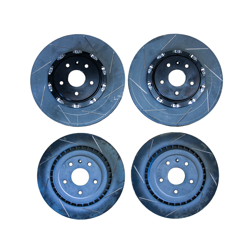 ATS-V RP Slotted Front and Rear Rotors