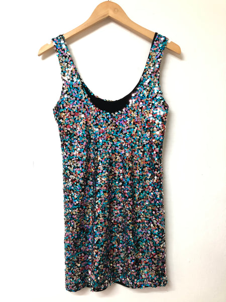 John Zack Sequin Dress Size M/L