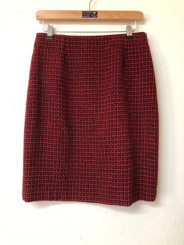 Kingshill Red and Black Skirt Size 12