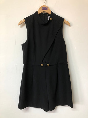 River Island Black Playsuit Size 14