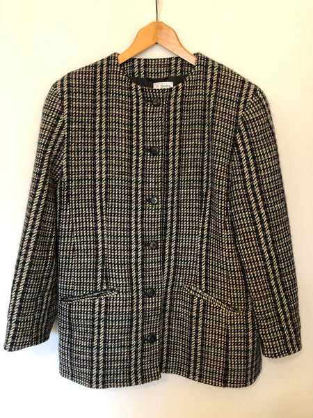 Vintage Wool Check Jacket 18
