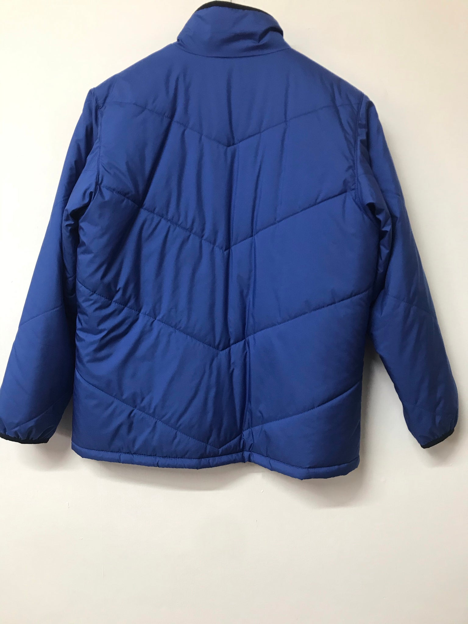 Vintage St Michael Blue Padded Snow Jacket 14