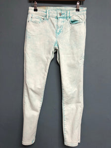 Esprit Denim Skinny Fit Aqua Jeans Waist 27 Inches